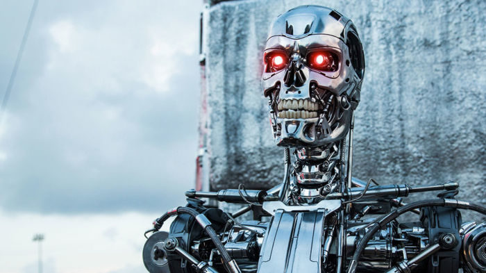 Robot sotto attacco