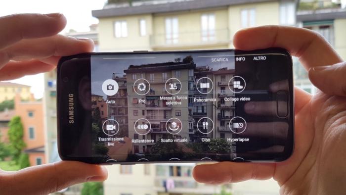 Samsung fotocamera smartphone