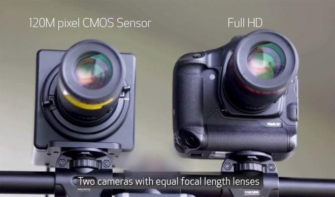 Sensore fotocamera Canon 120 Megapixel