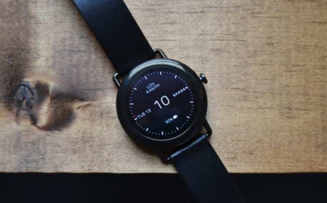 Skagen Falster smartwatch Android Wear elegante