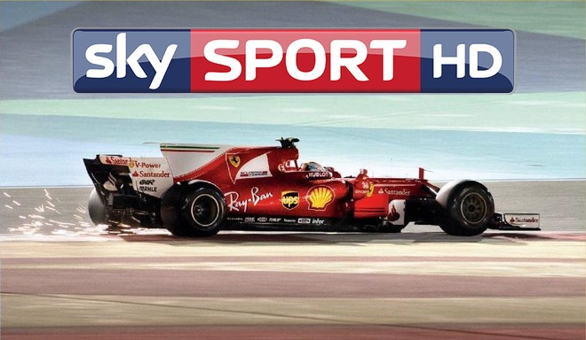 Sky Sport Ultra HD HDR Formula 1