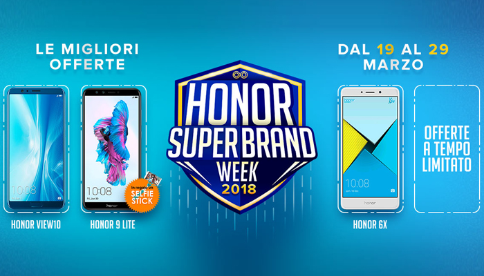 Honor Super Brand Week