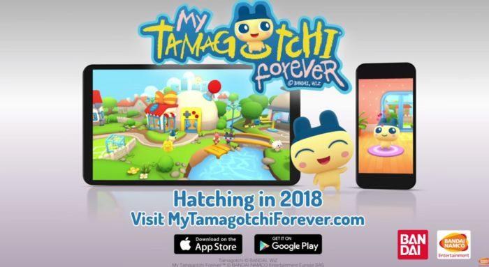 Tamagotchi Forever disponibile su iOS e Android il gioco più famoso degli anni 90