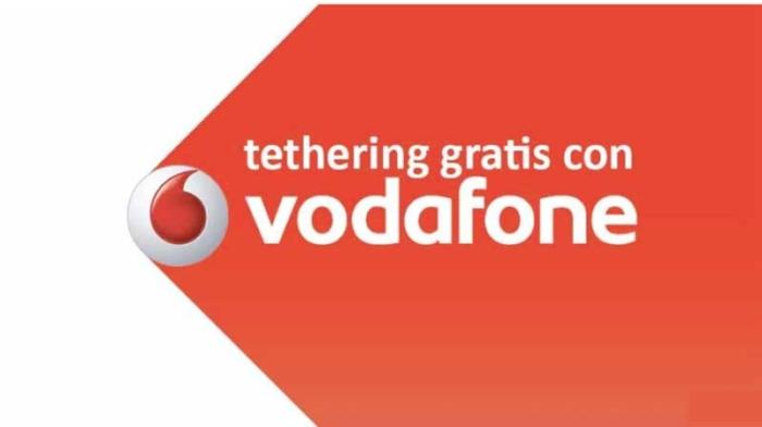 Tethering Gratis Vodafone