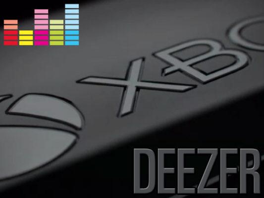 Xbox One Deezer app