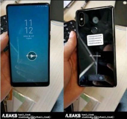 Xiaomi Mi Mix 2S immagini
