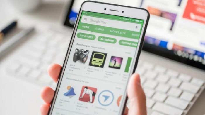applicazioni Google Play Store