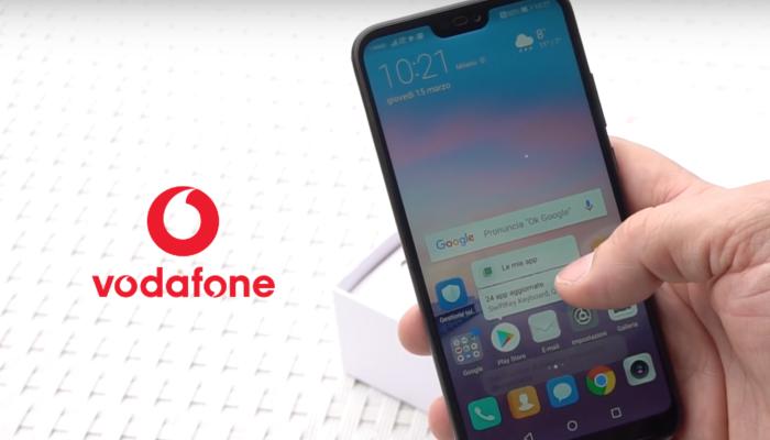 Huawei P20 Lite con Vodafone a partire da 5.99 euro al mese