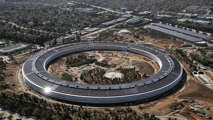 Continui infortuni all'interno di Apple Park