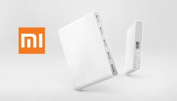 Nuovo caricatore multi porte Xiaomi