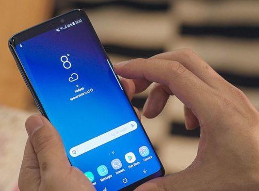 Problemi al display per Samsung Galaxy S9
