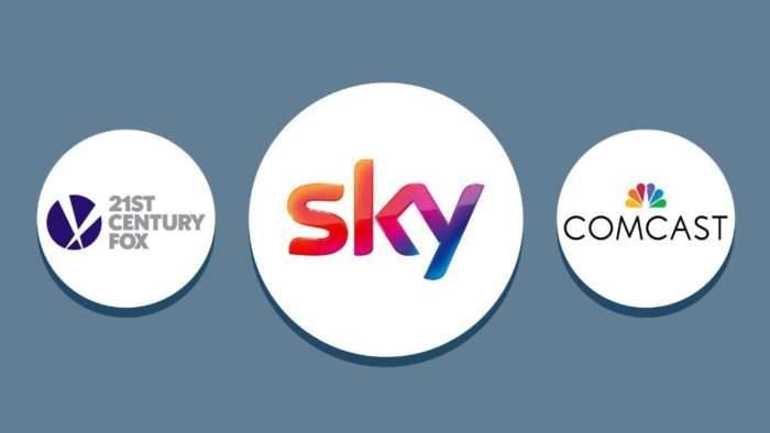 Acquisizione Sky Comcast Fox