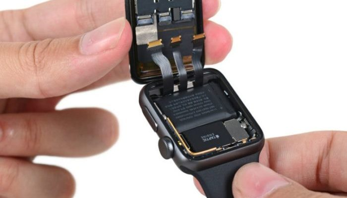 Apple Watch 2, sostituzione della batteria gratuita