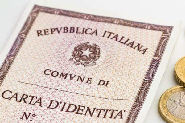 Carta di identità elettronica impronte
