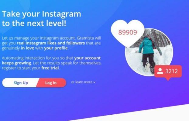 Gramista Instagram bot