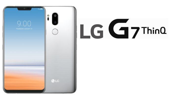 Ecco un nuovo render con LG G7 ThinQ in