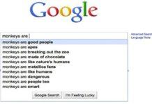L'autocompletamento della ricerca di Google ci fa risparmiare secoli