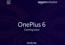 OnePlus 6 su Amazon India