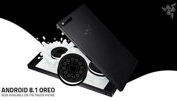 Razer Phone con Android 8.1 Oreo