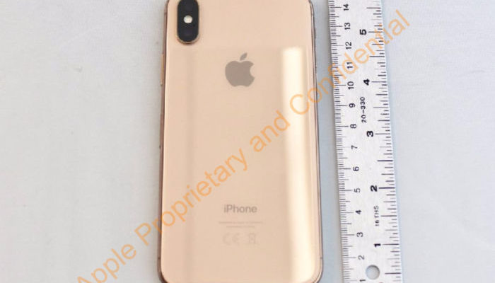 iPhone X Gold
