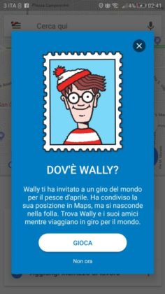 Wally Google maps