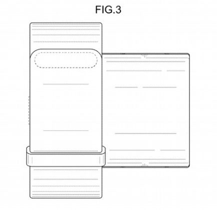 brevetto indossabile Samsung 2