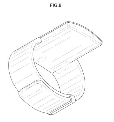 brevetto indossabile Samsung