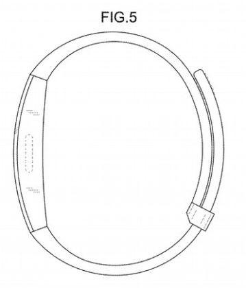 brevetto indossabile Samsung 5