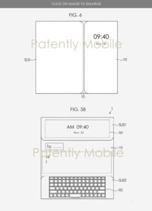 brevetto multipieghevole samsung tastiera