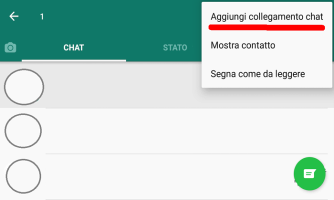 collegamento chat Home Whatsapp