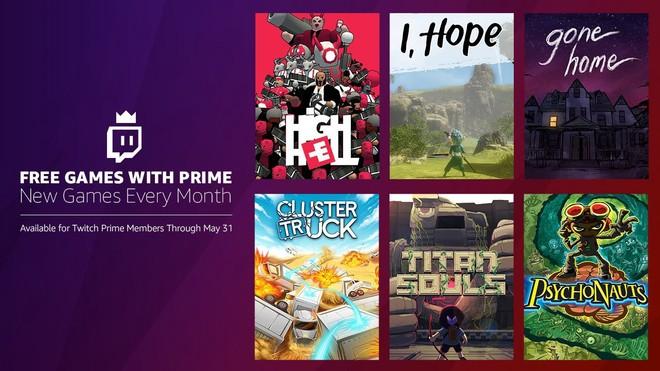 giochi gratis Amazon Prime maggio 2018