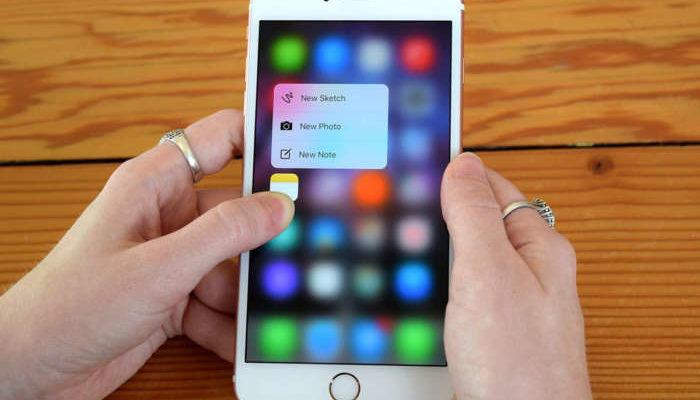 """Addio al 3D Touch con iPhone 2018 da 6.1"""""""