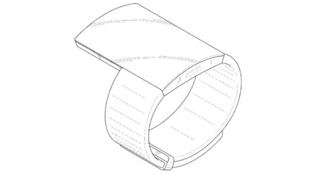 samsung brevetto indossabile extra large