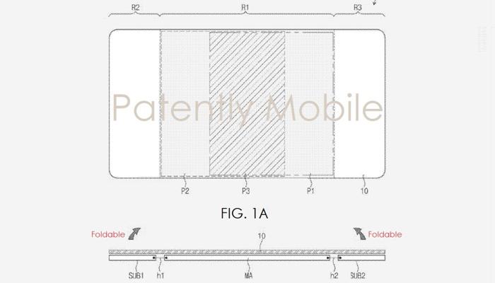 Samsung, il brevetto di un tabletpieghevole