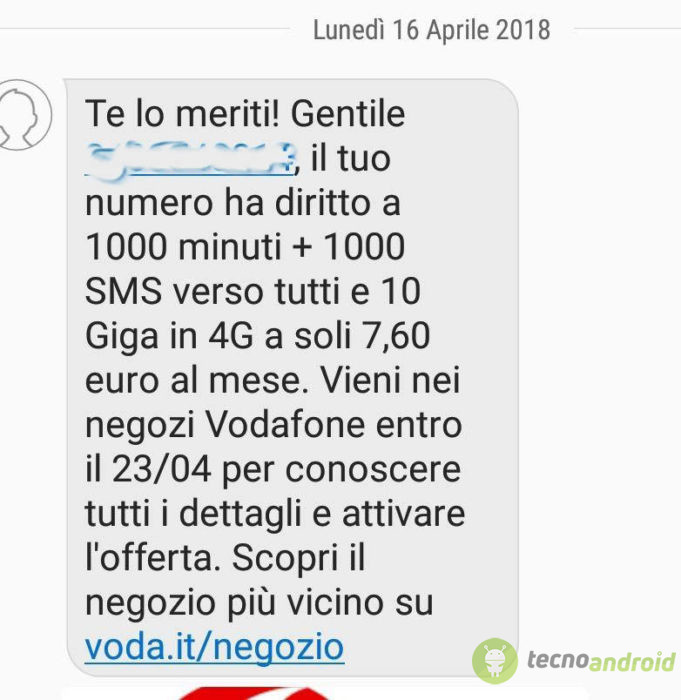 Vodafone Happy, fino a 30 GB in regalo per un mese