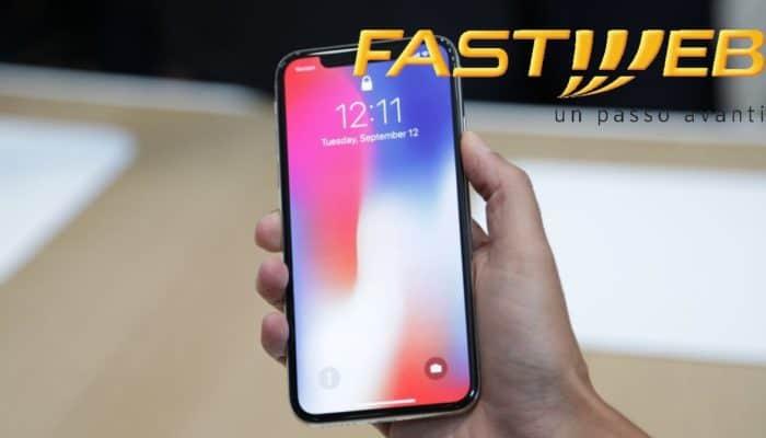 iPhone X con Fastweb Mobile ad un prezzo interessante