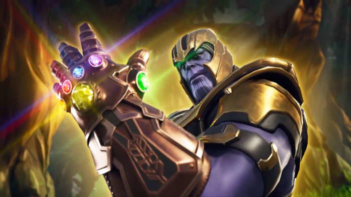 Fortnite: l'ultima patch ha portato delle modifiche anche a Thanos