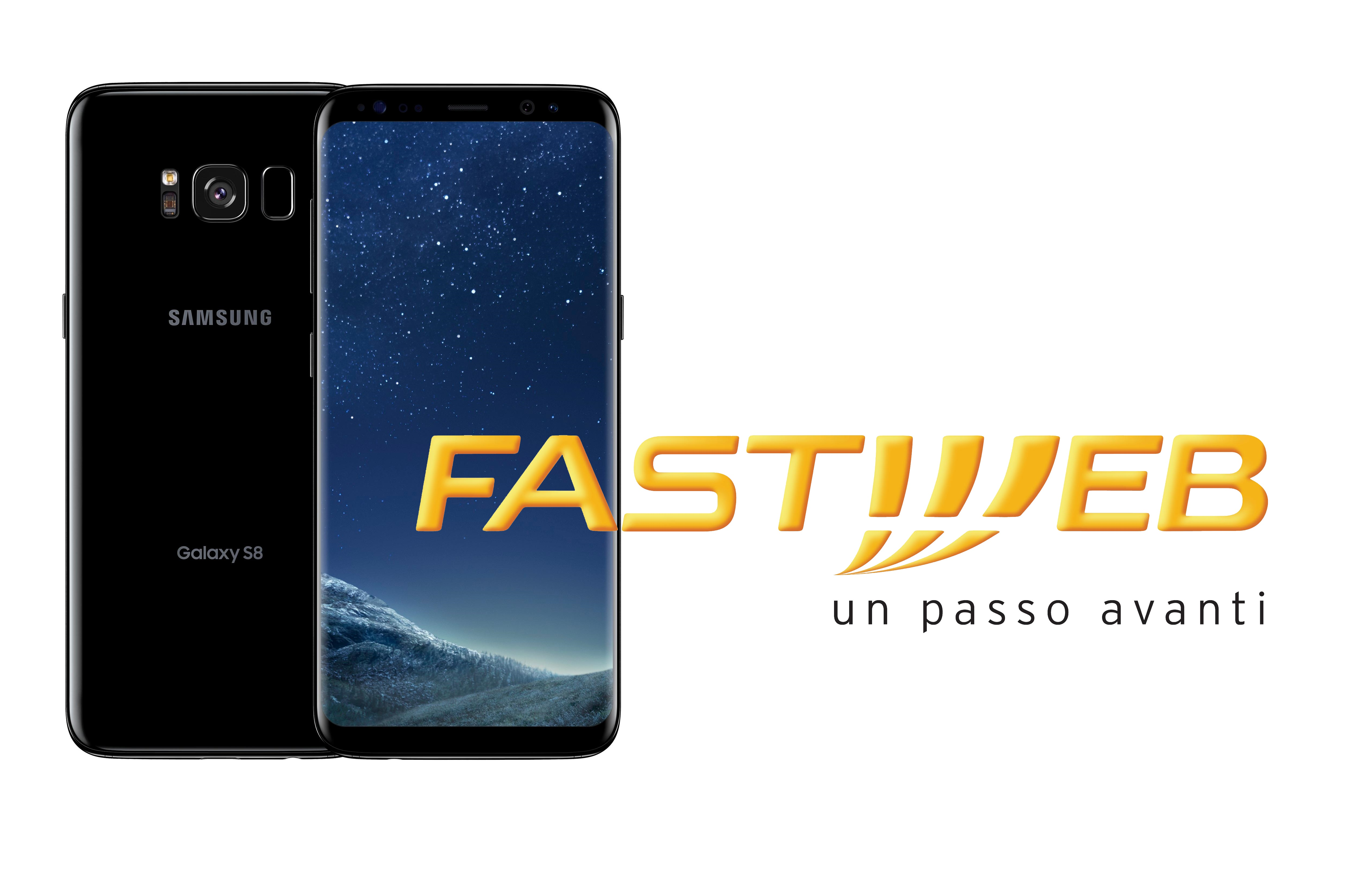 fastweb mobile offre samsung galaxy s8 a rate ad un prezzo super. Black Bedroom Furniture Sets. Home Design Ideas