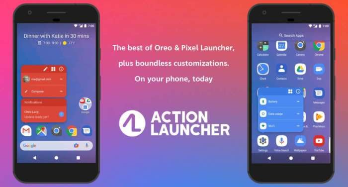 Action launcher 35 Android