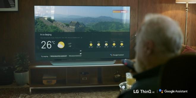 Google Assistant TV LG