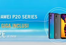 Huawei P20 Lite con Wind