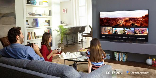 LG OLED TV Google Assistant