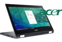 Laptop Acer con Amazon Alexa