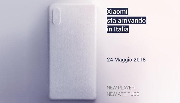 Xiaomi Italia con Xiaomi Mi MIX 2S