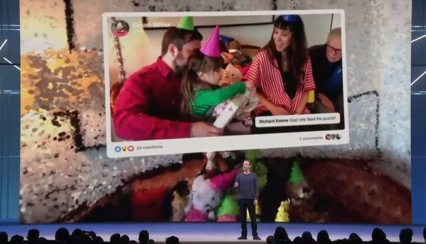 """Facebook """"ricreerà"""" i nostri ricordi delle foto con la realtà virtuale"""