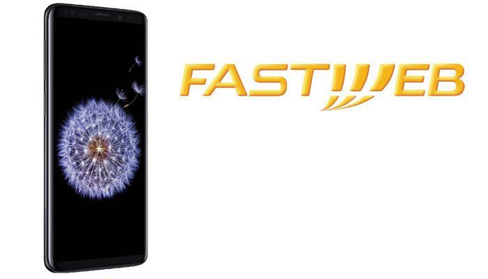 Samsung Galaxy S9 con Fastweb Mobile