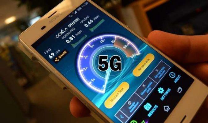 smartphone 5G 2018