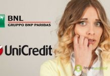 unicredit conti correnti bnl