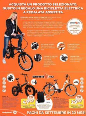 Volantino Expert In Regalo Una Bicicletta Elettrica Per Battere
