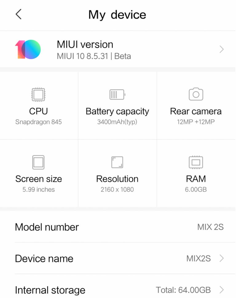 How to Install MIUI 10 on Xiaomi Mi Mix 2 / 2S, Mi 6 and